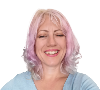 Miriam Gilbert, founder of Impactfulness Lab, smiling